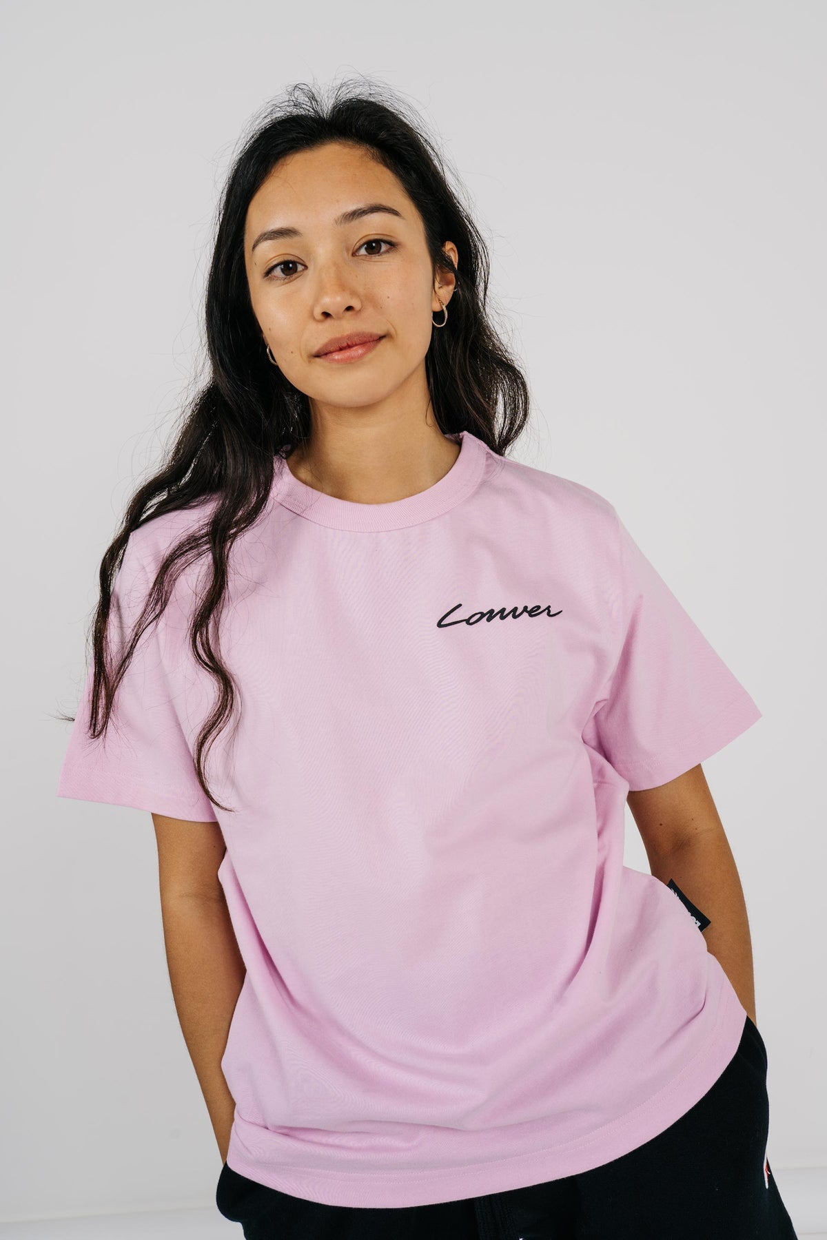 Womens Channel Tee - Carpenter - Pink
