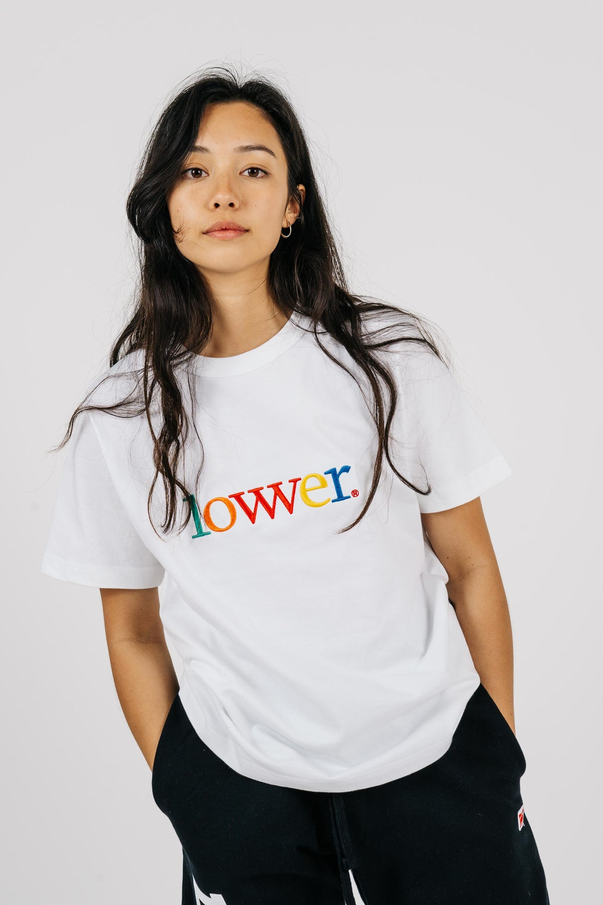 Womens Channel Tee - Applebox - White