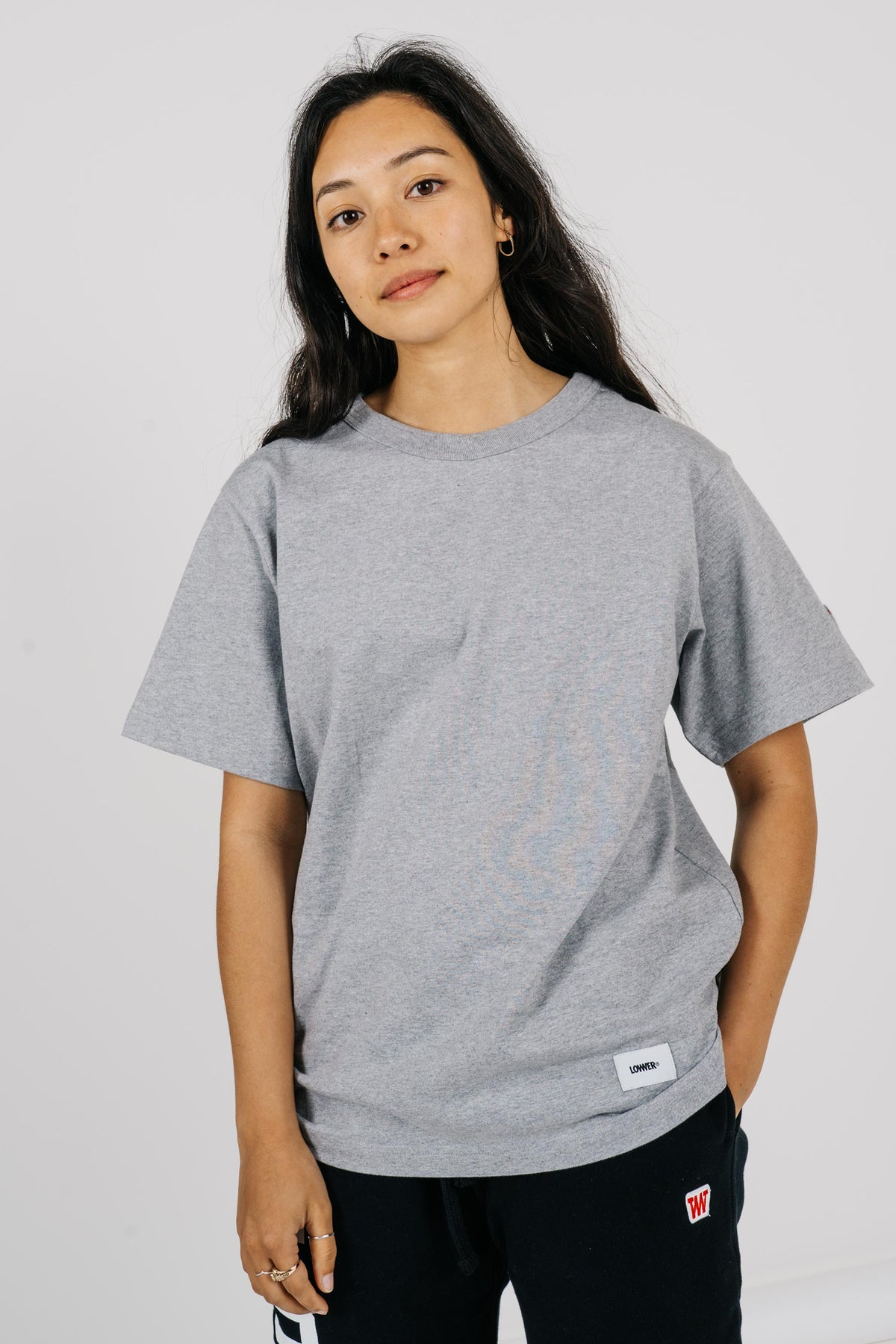 Womens Channel Tee - Sports Grey