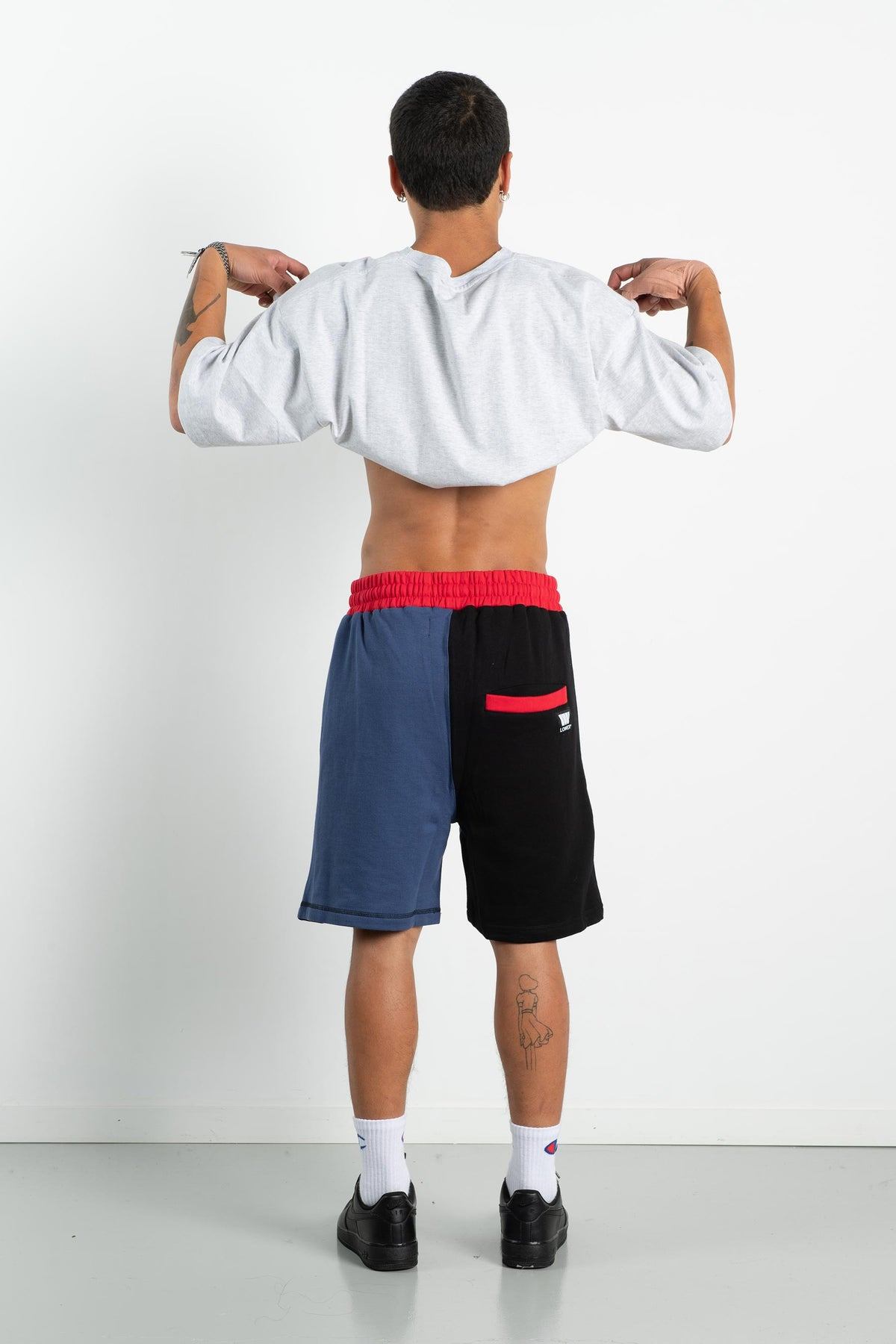 Mens Chill Shorts - Red/Blue/Black