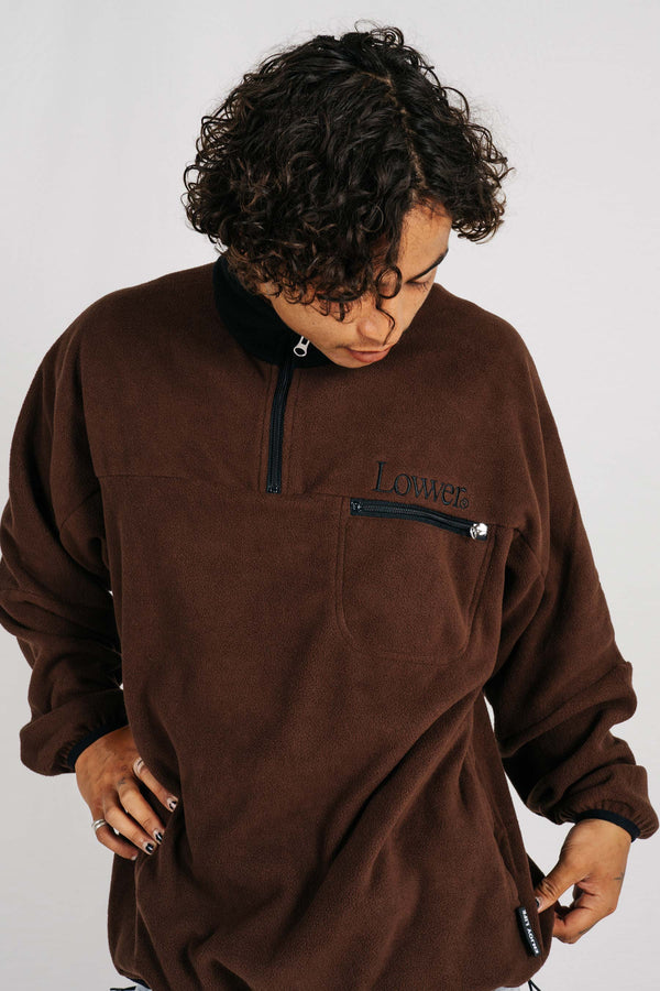 Dexter Polar Fleece - Brown/Black