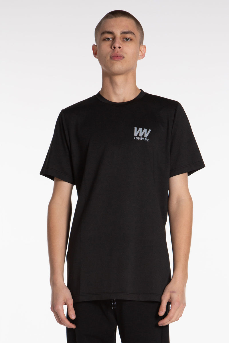 Double Charger Field Tee - Black