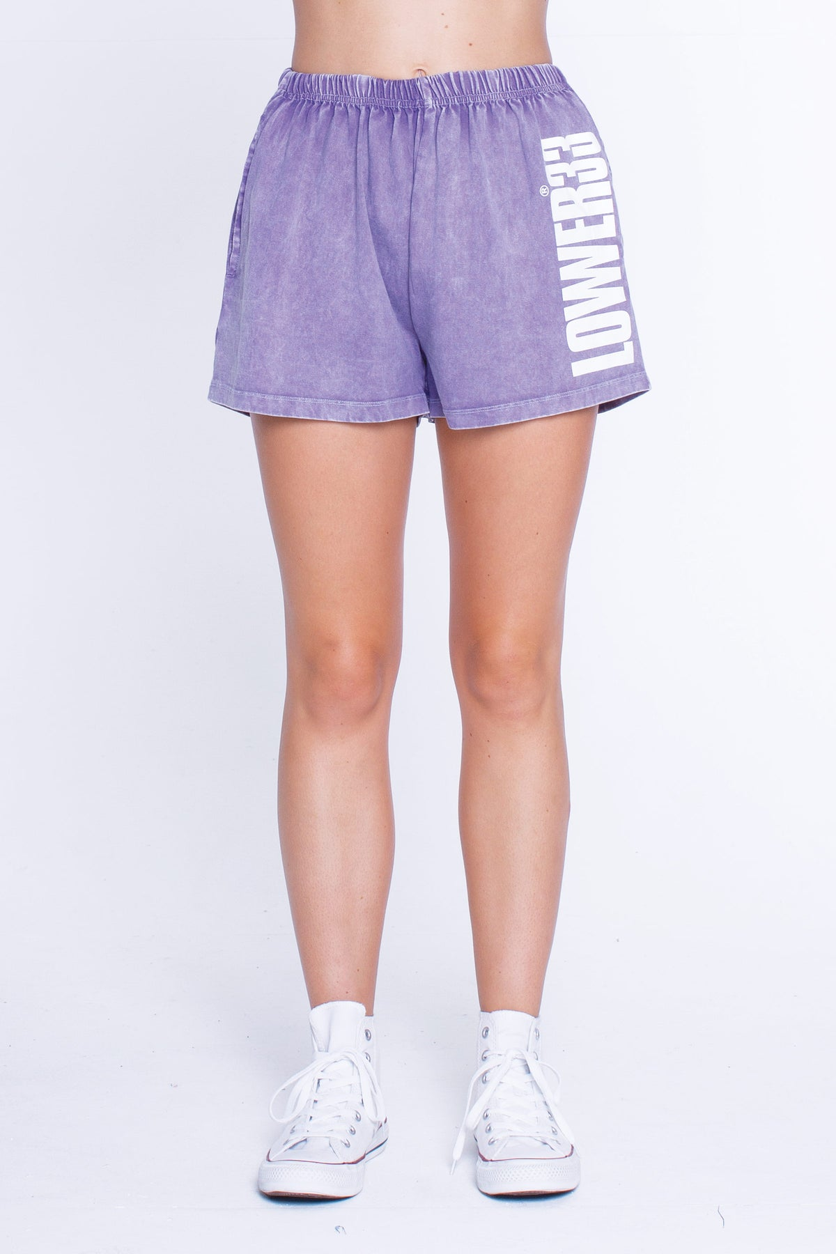 Womens Ziggy Shorts - Dippin - Grape