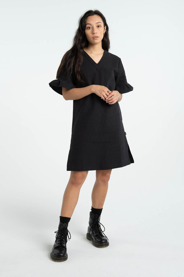 Womens Easy Dress - Black
