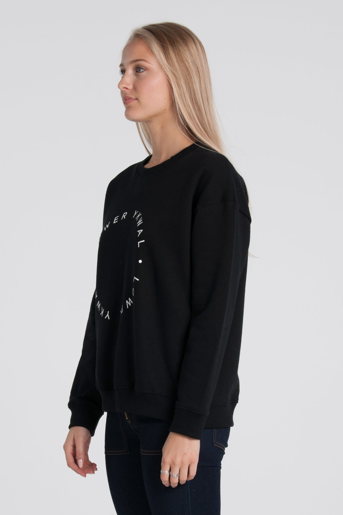 Eclipse Tilly Crew - Black