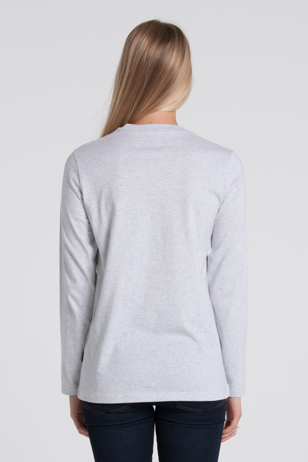 Eventide Long Sleeve - Silver Marle