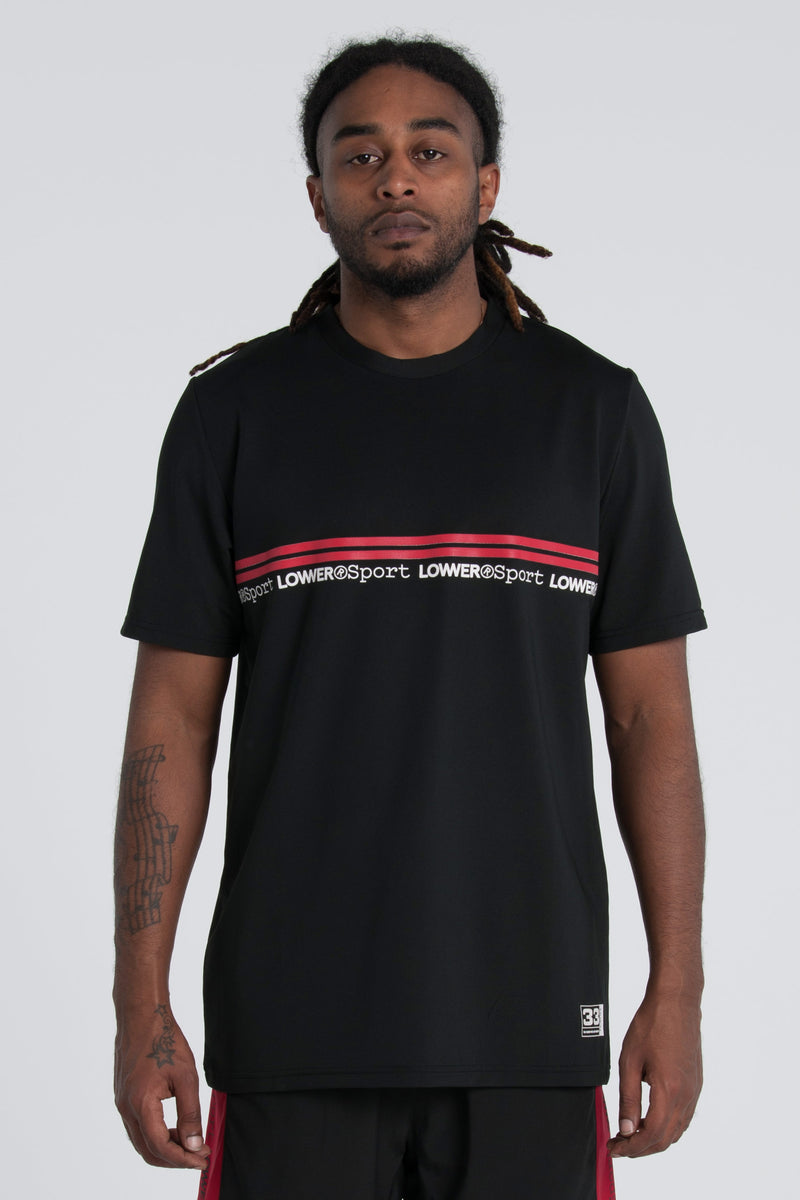 Fly Weight Field Tee - Black