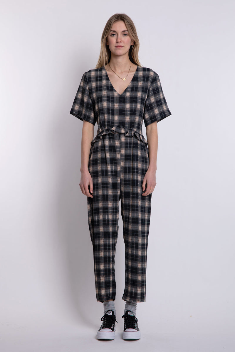 Fran Jumpsuit - Check
