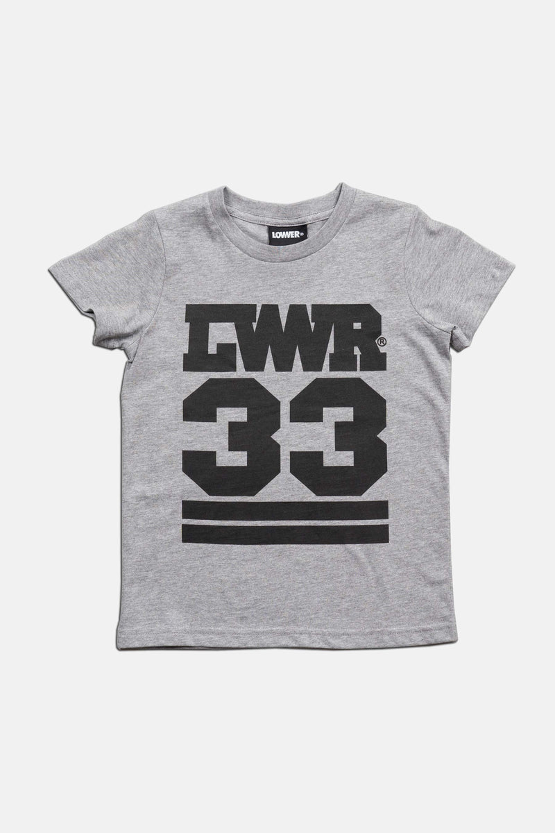 Kids/Youth Tee - Rosebowl - Grey Marle