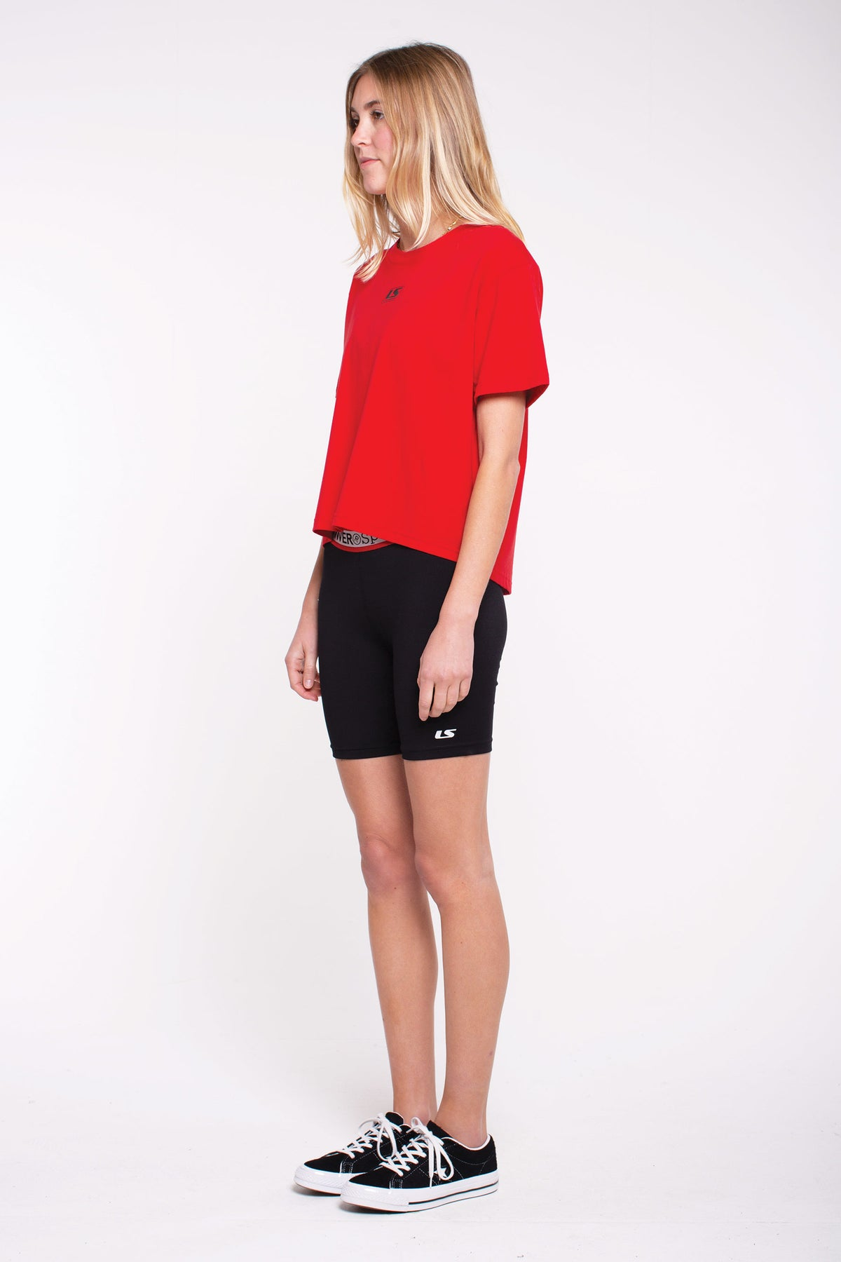 Hurdle Gym Tee - Red