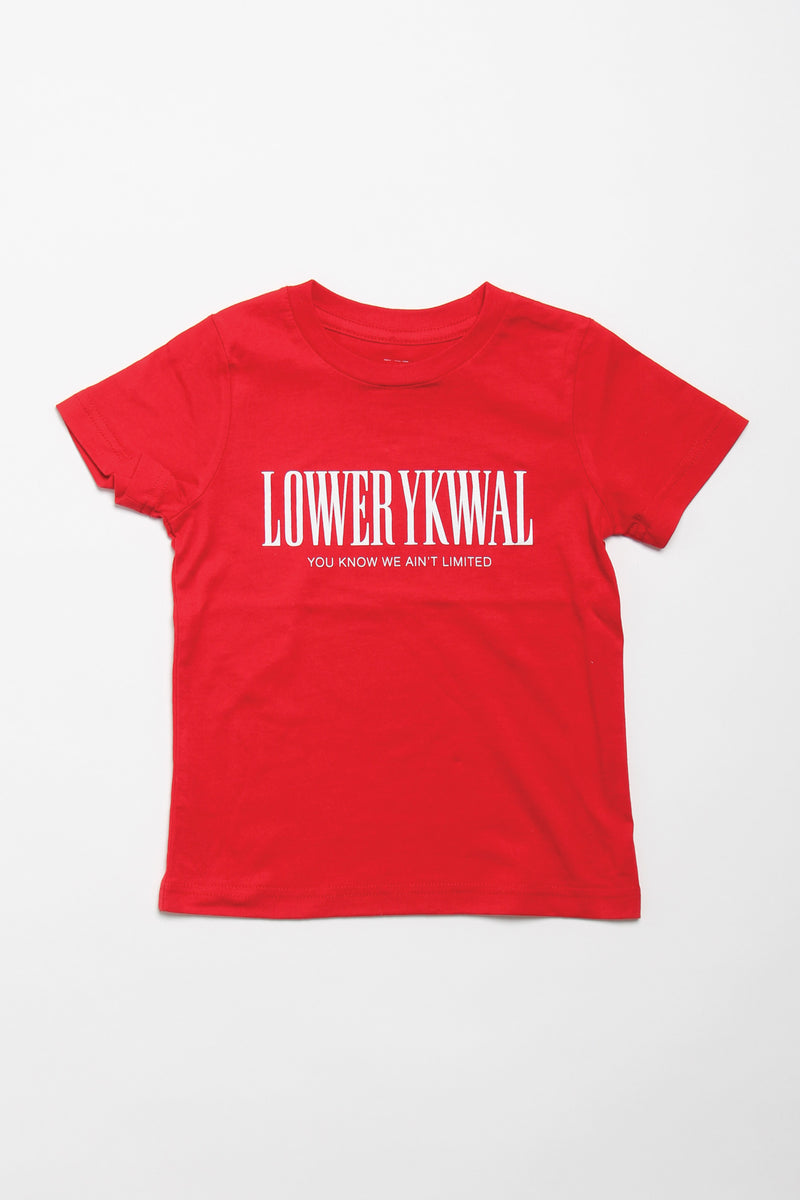 Gambino Kids/Youth Tee - Red