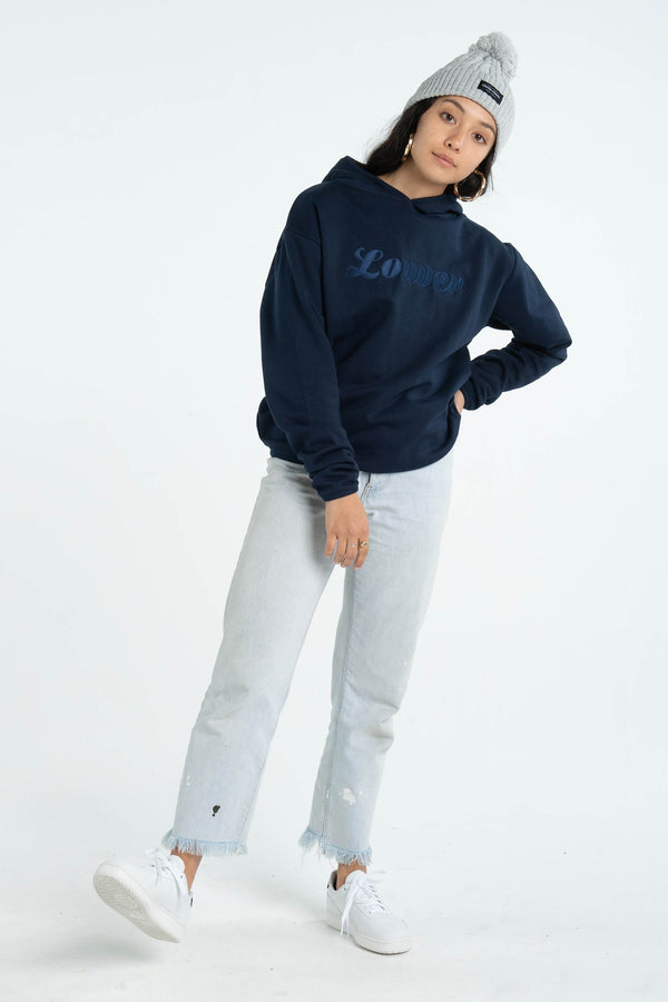 Womens Gina Hood - Swift - Navy