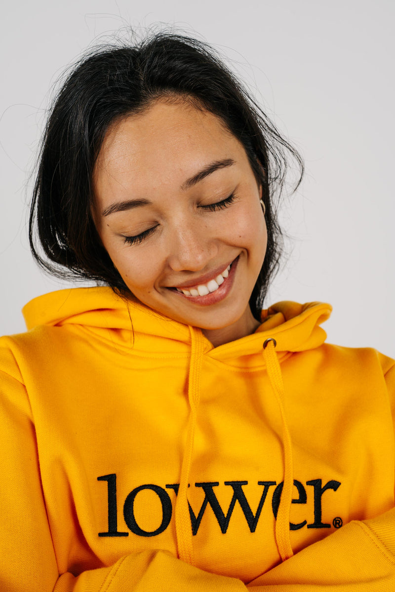 Womens Semester Hood - Applebox - Gold