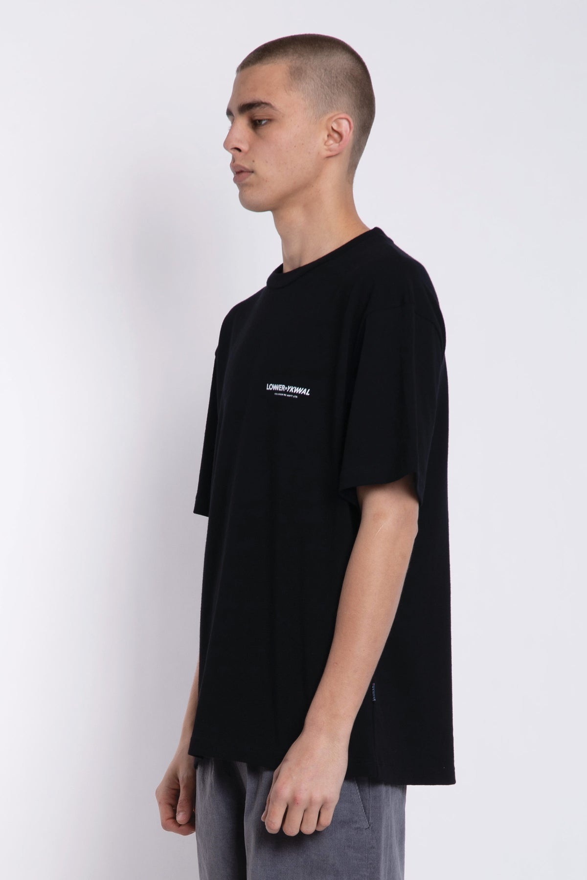 Logo Heavyweight Tee - Black