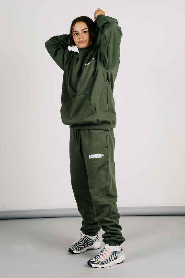 Heavy Trackpant - Funtura - Olive Green