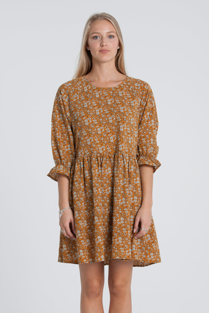 Harlan Dress - Rust Floral