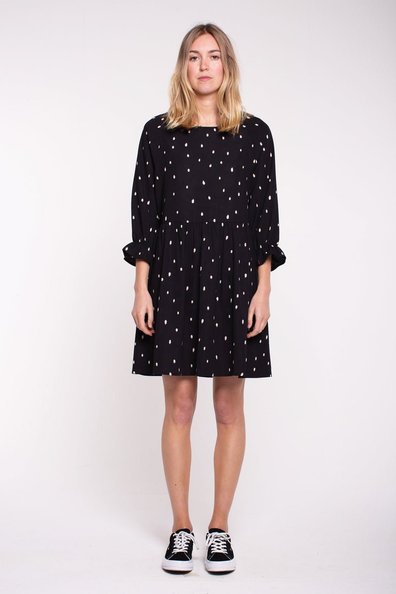 Harlen Dress - Black Spot