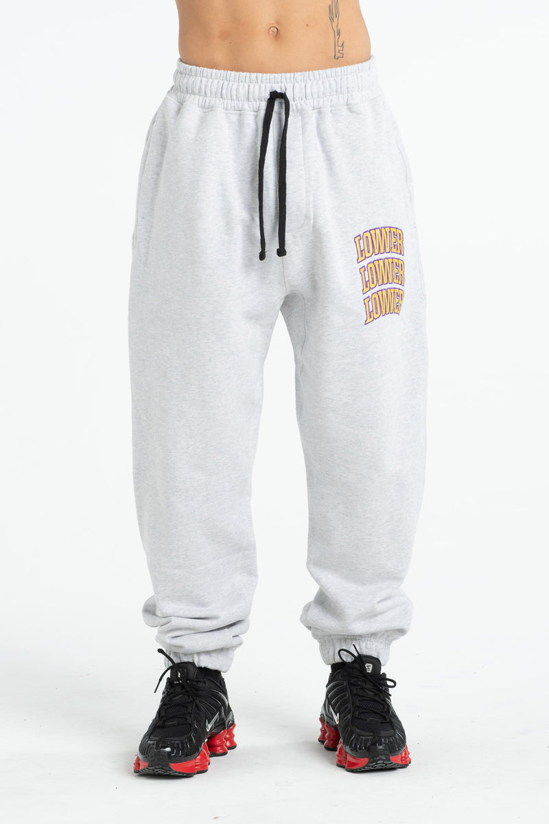 Heavy Track Pant - Arch Stack (Unisex) - Silver