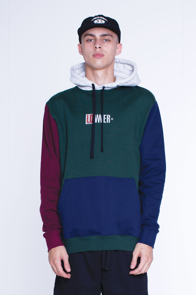 Mens Set Hood - Hil (Embroidery) - Pyne Green/Navy/Maroon