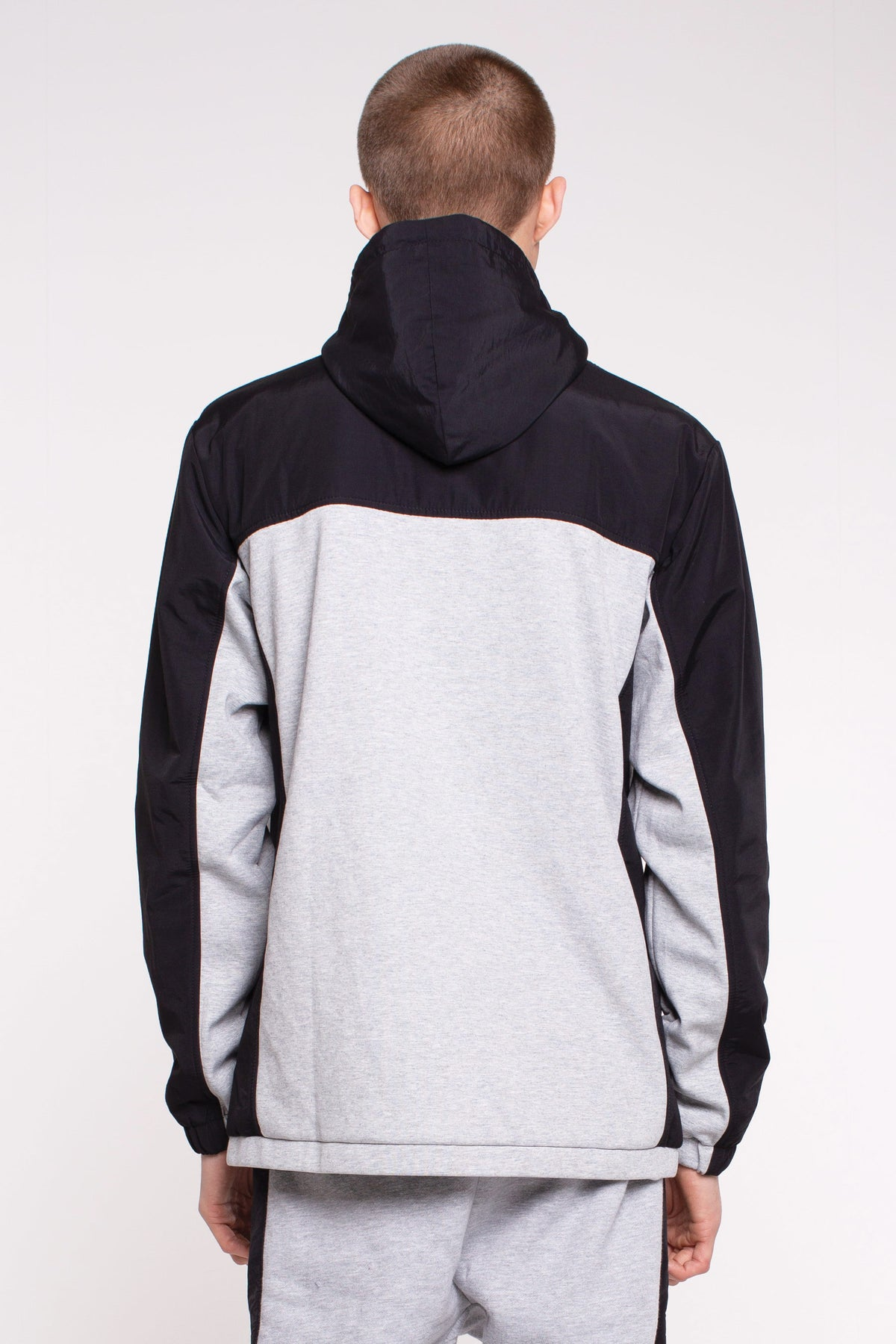 Hurdle Team Hood - Black/Grey
