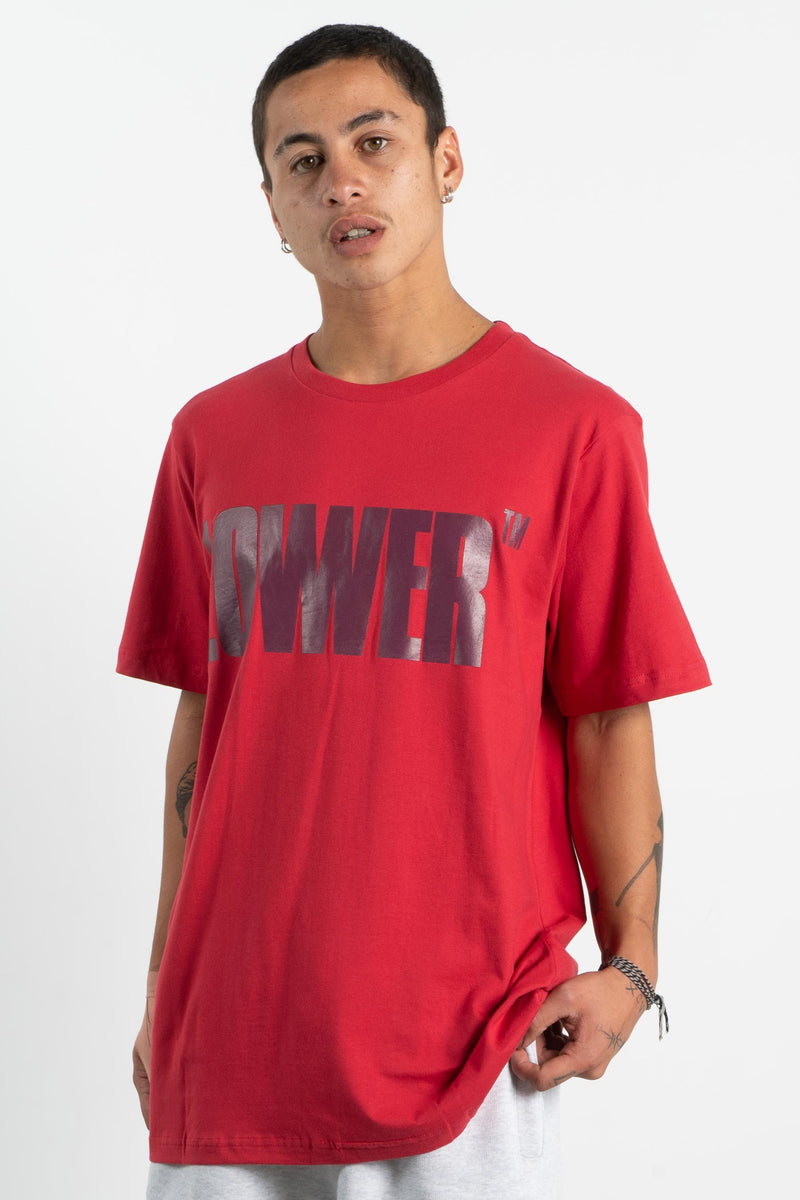 Mens QRS Tee - Jericho - Red
