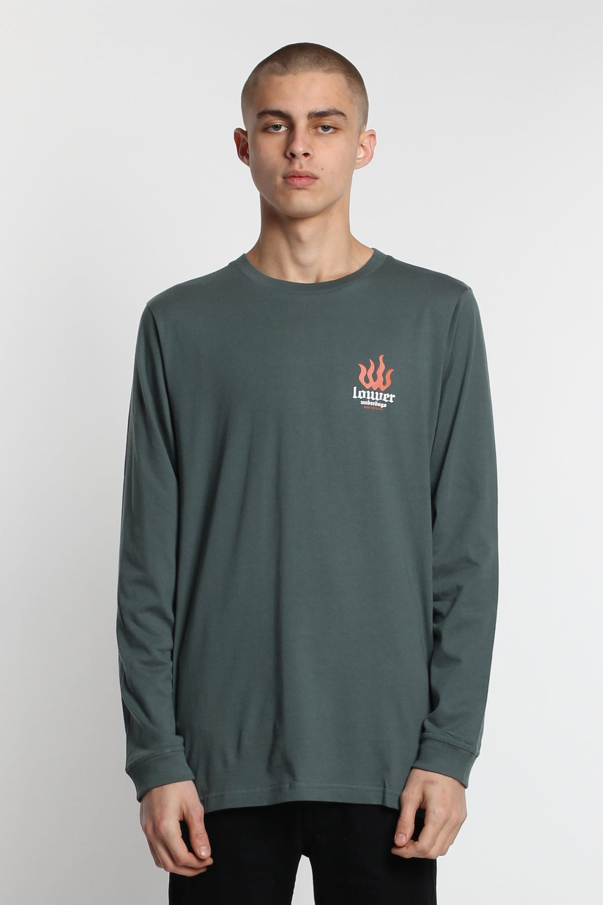 La Flame LS Tee - Green