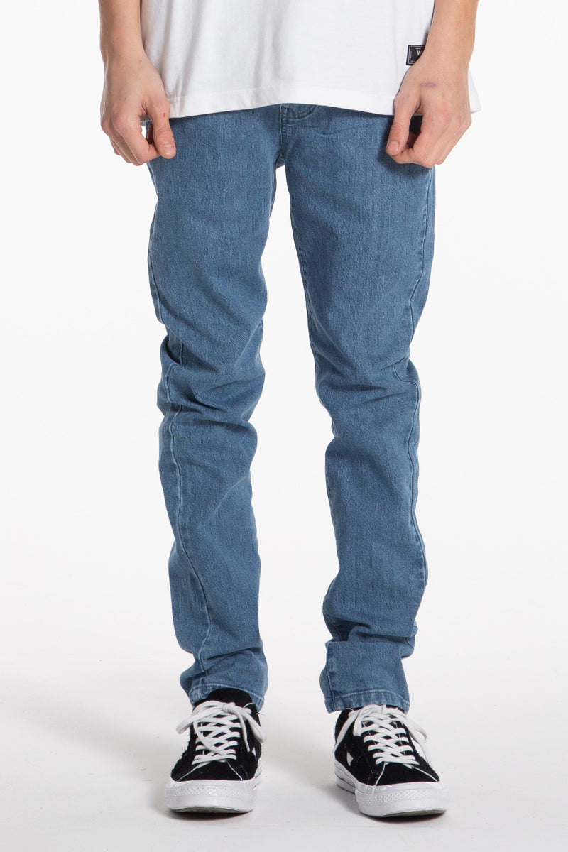 Leaner Jean - Light Wash