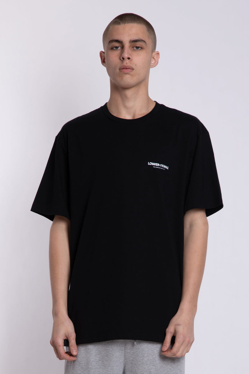 Logo Tall Tee - Black