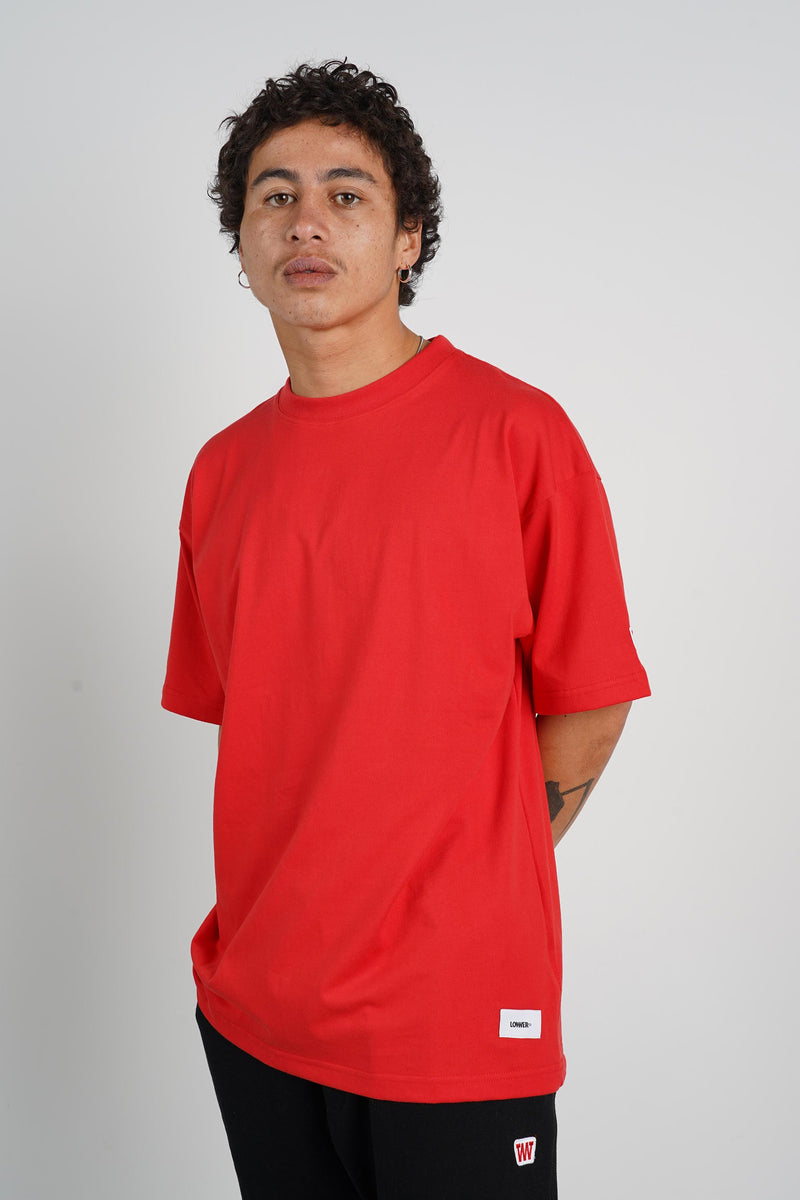 '94 Tee (Heavyweight Organic Cotton) - Fiesta Red