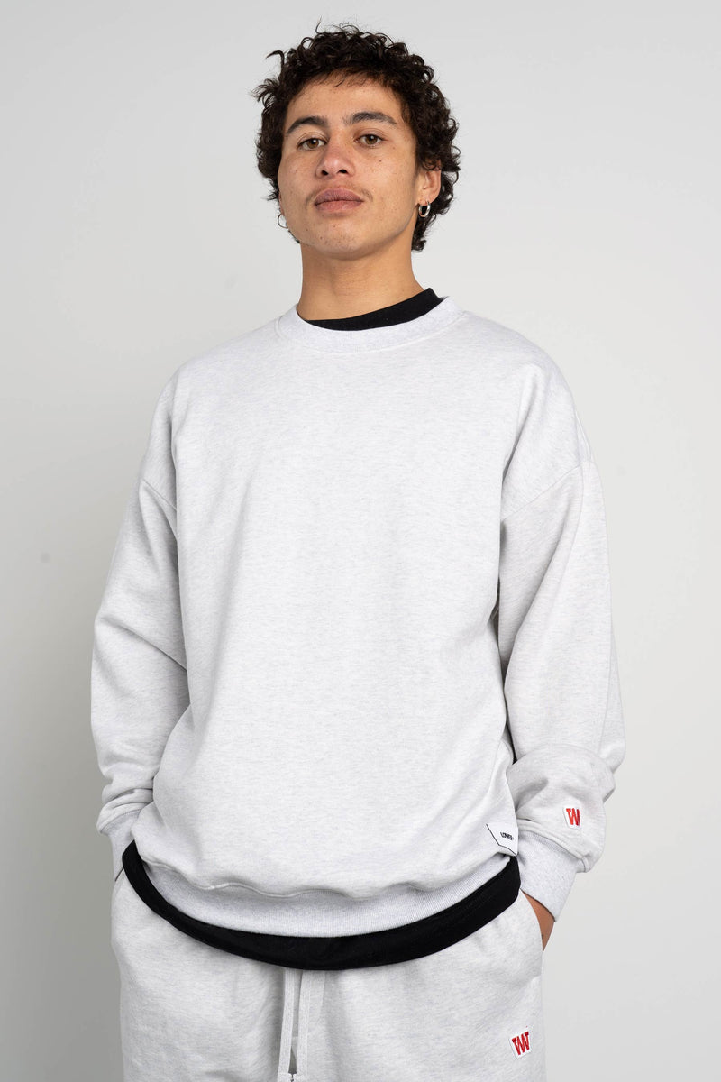 BD Crew (Unisex Heavyweight Organic Cotton) - Silver