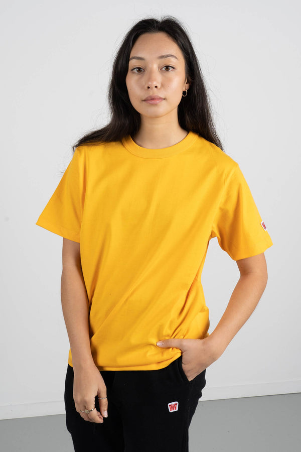 Channel Tee (Heavyweight Organic Cotton) - Gold Fusion