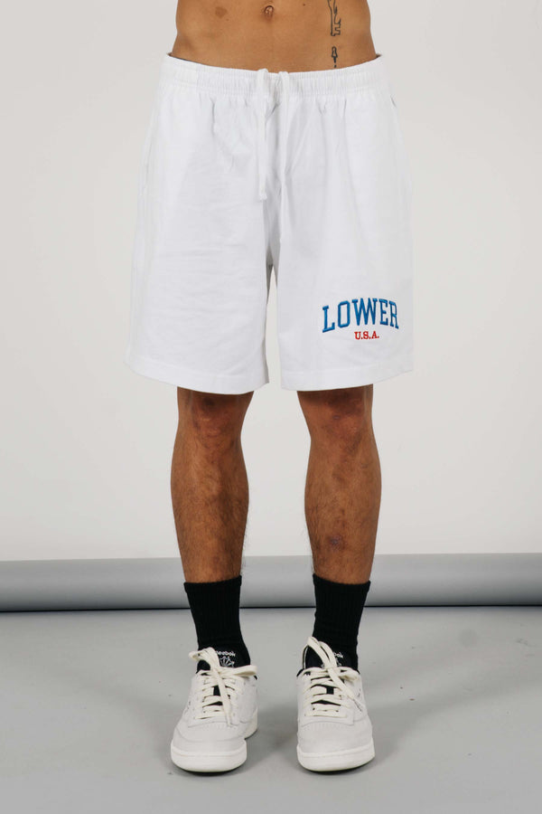 Heavy Livin' Shorts - Low USA - White
