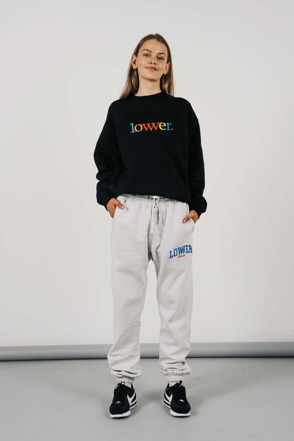 Heavy Trackpant - Low USA - Silver Marle