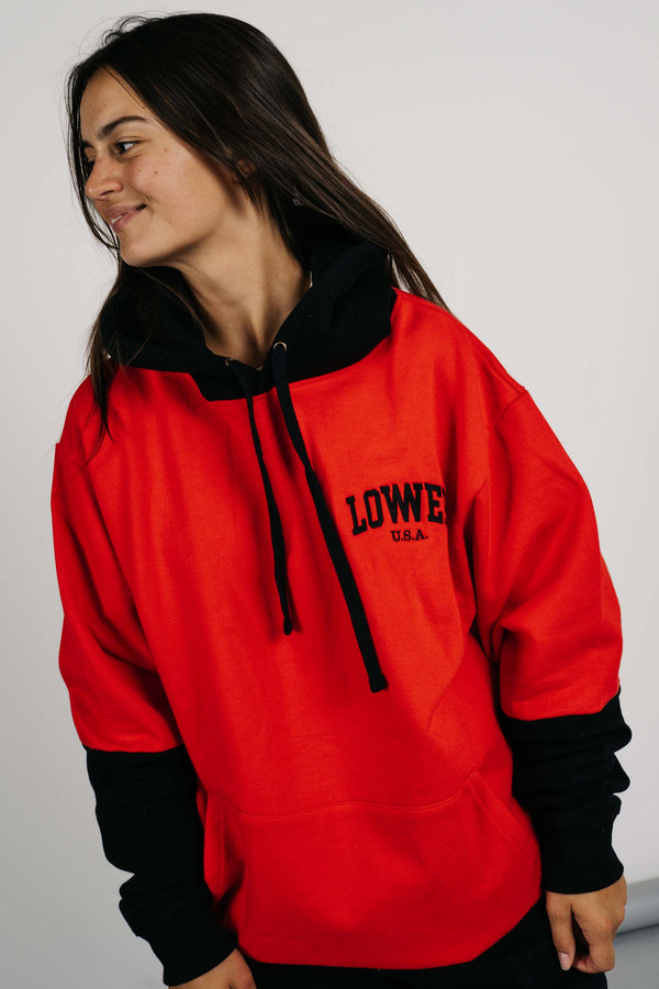 Set Hood - Low USA - Red/Black