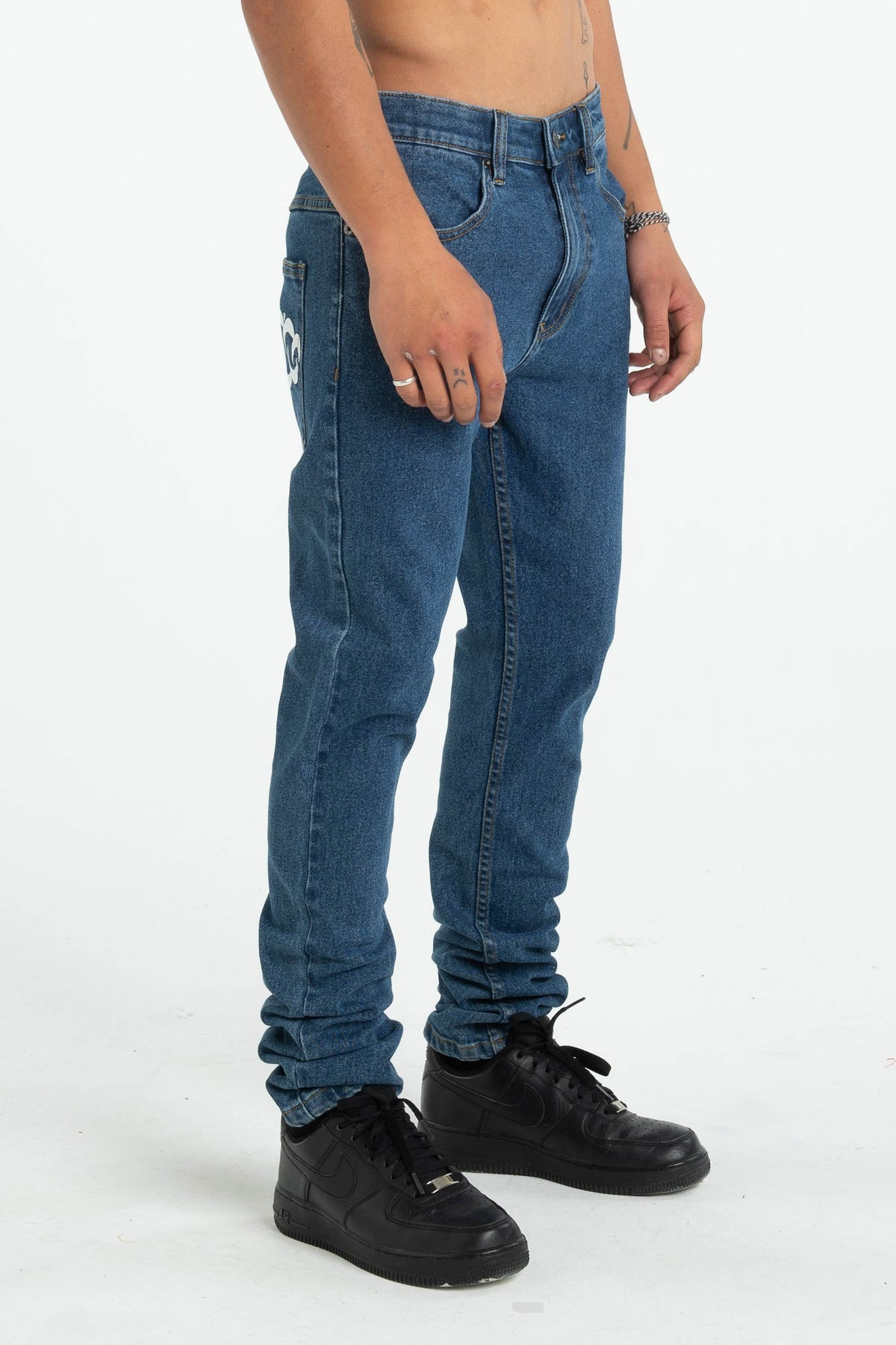 Mens Leaner Jean - Teef - One Wash