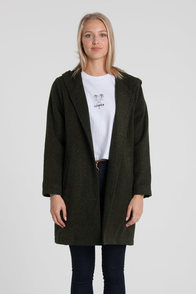Lila Coat - Green