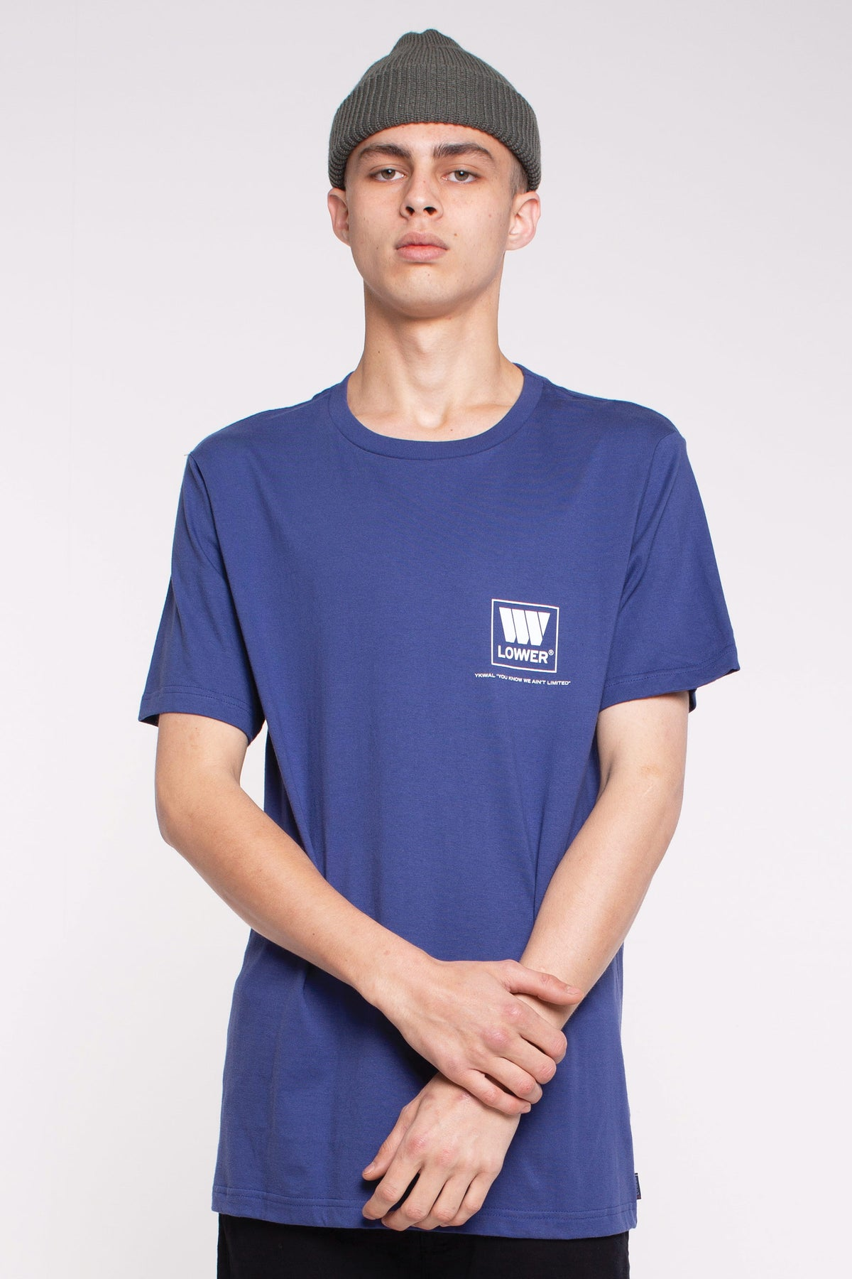 Lo Town QRS Tee - Blue