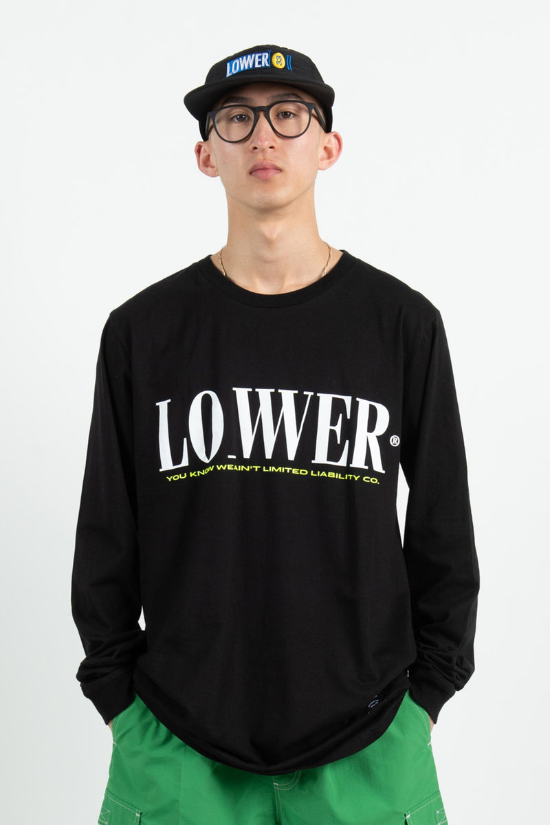 Mes QRS L/S Tee - Loture - Black
