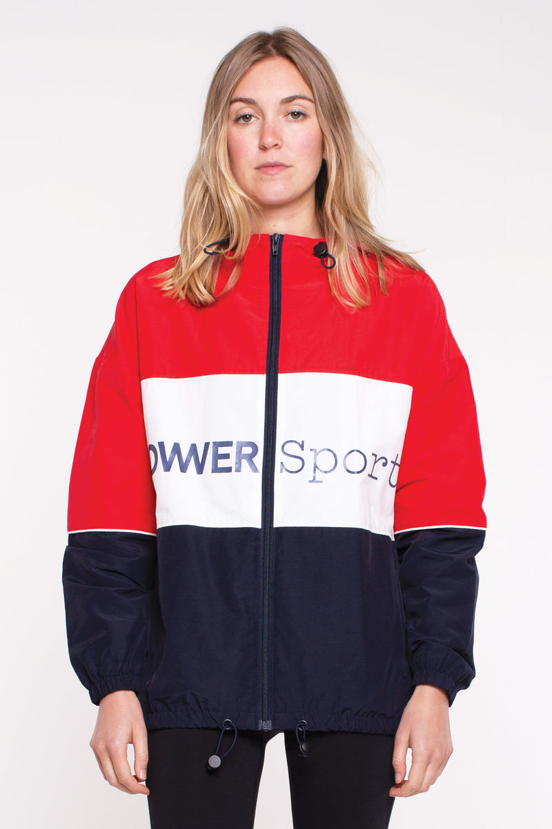 Lower Sport Panel Jacket - Red/White/Blue