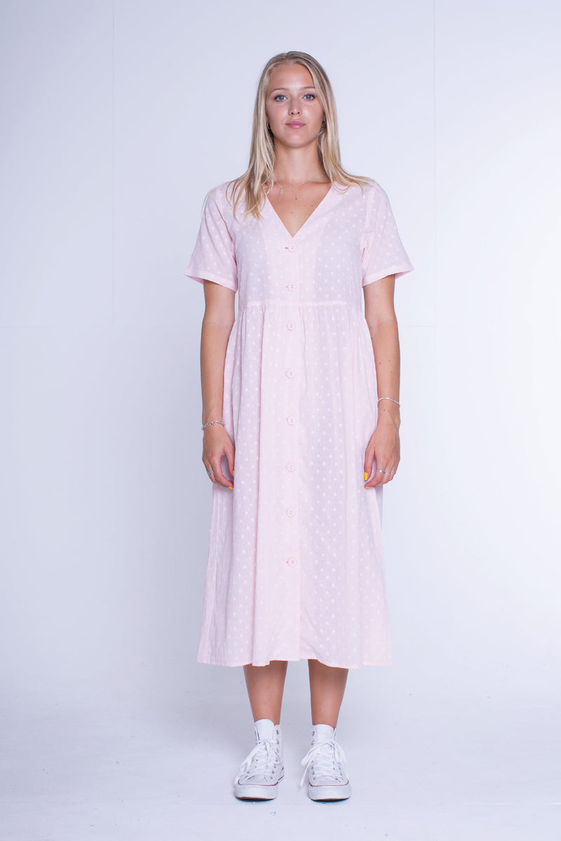 Womens Lylah Dress - Peach