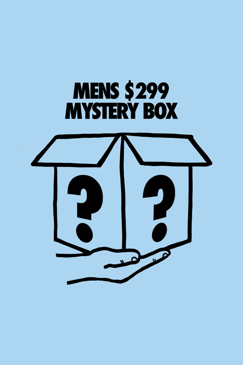 ***LIMITED*** Mens $299 Mystery Box