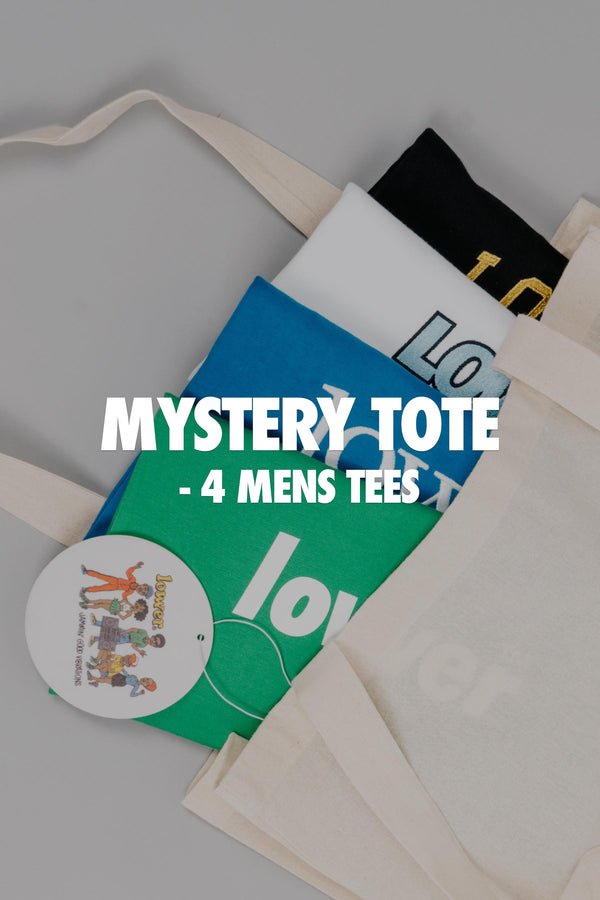 Mens Mystery Tee Tote