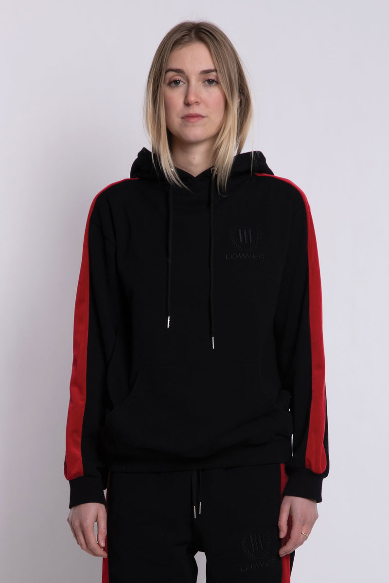 Paloma Hood - Black/Red