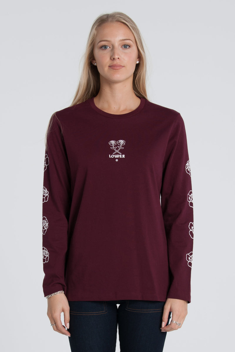 Posie Relax Long Sleeve - Silver Marle