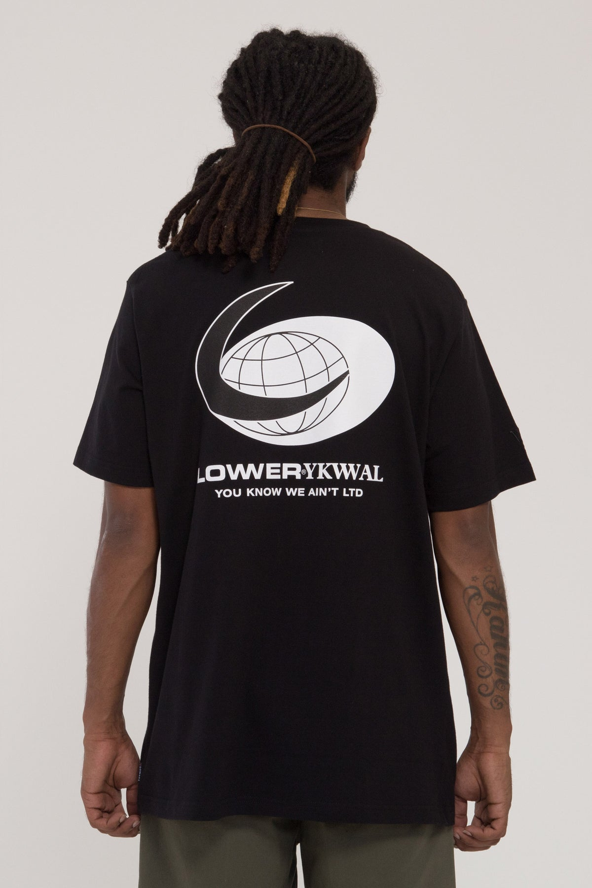 Worldwide QRS Tee - Black