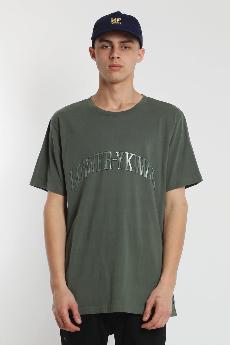 Dropout QRS Tee - Green
