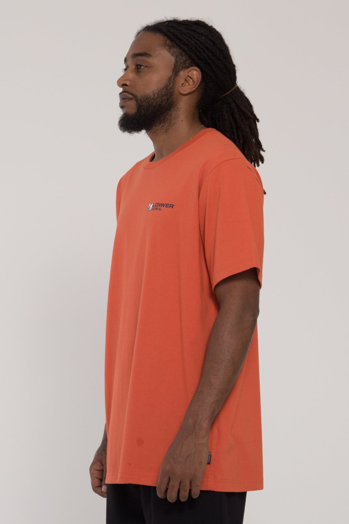 The Valley QRS Tee - Orange