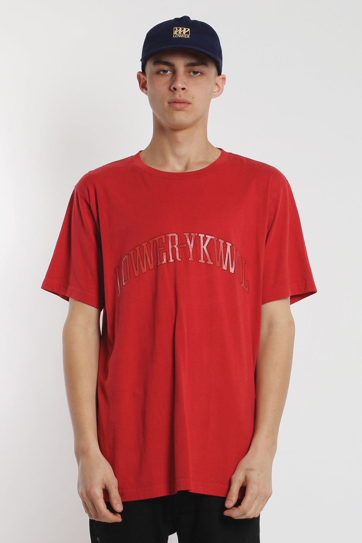 Dropout QRS Tee - Red