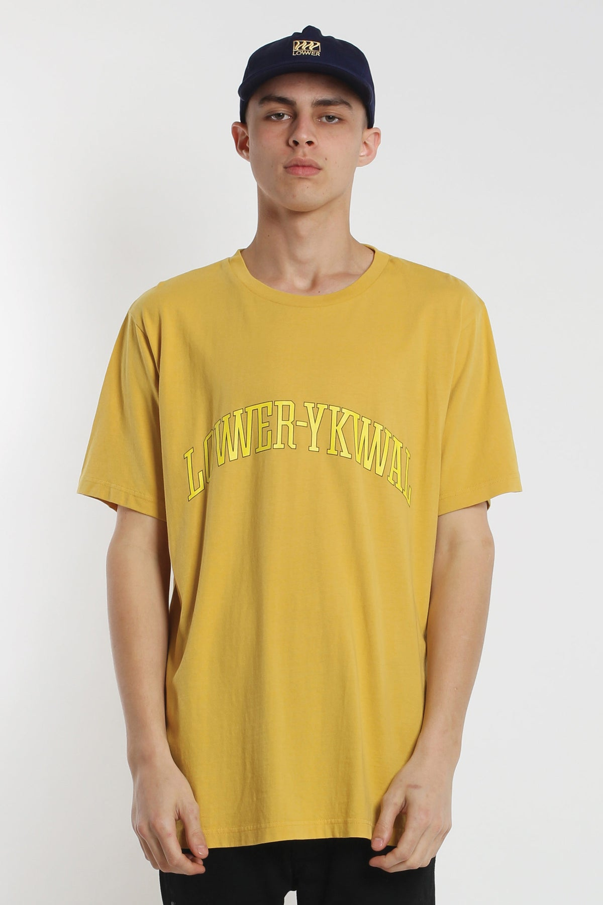 Dropout QRS Tee - Yellow