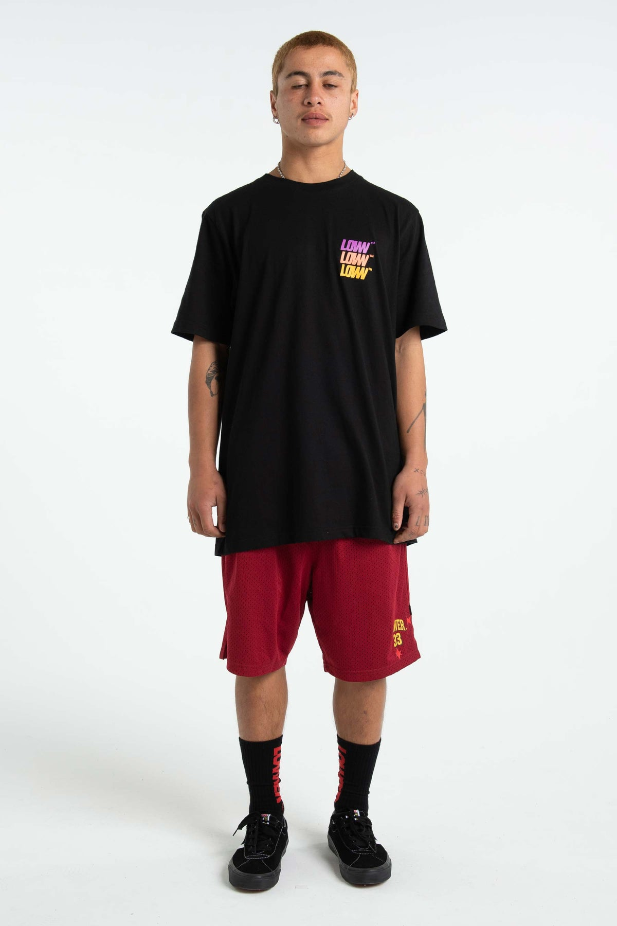 Mens QRS Tee - Low Stack - Black